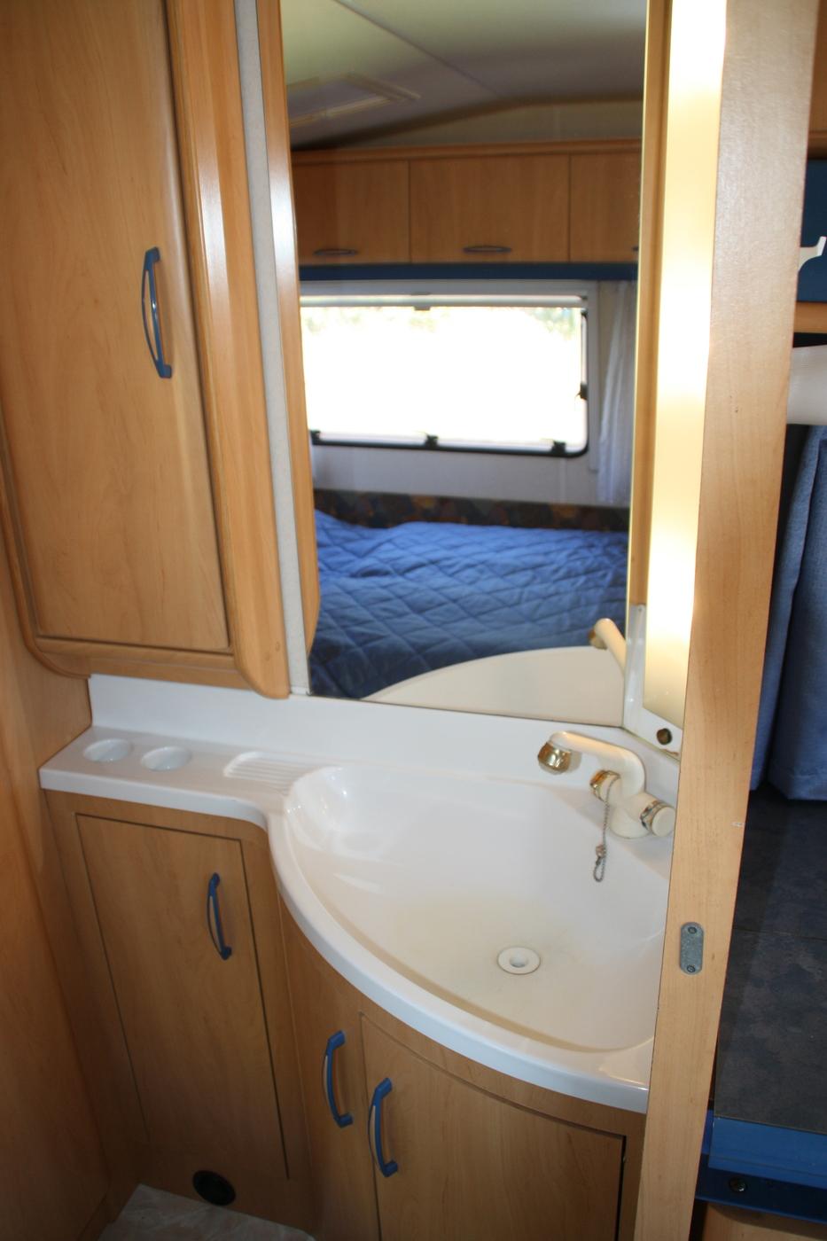 Thumb håndvask campingvogne udlejning aalborg