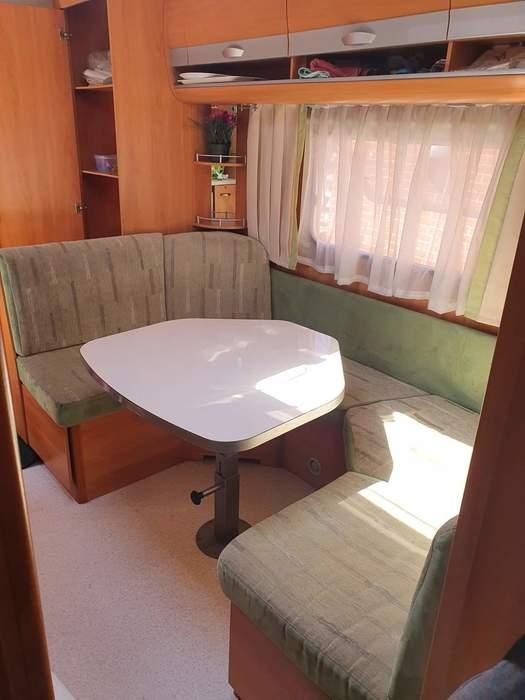 Familievogn på Bryrup camping og resort