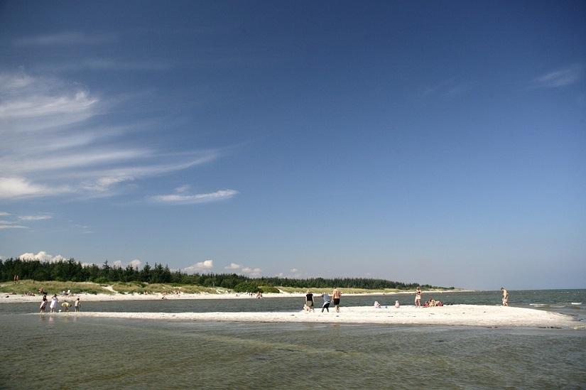 Thumb hals strand camping strand web