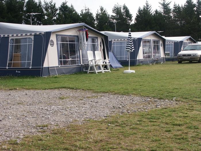 Skiveren Camping - 6 stk. Caravelair 556 årgang 2011