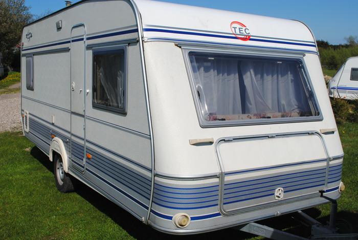 Tec Campingvogn til turen rundt i Danmark